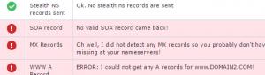 intodns invalid records